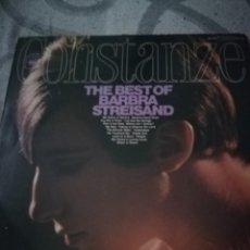Discos de vinilo: BARBRA STREISAND - CONSTANZE. THE BEST OF BARBRA STREISAND (LP . Lote 194365932