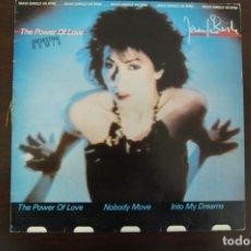 Discos de vinilo: JENNIFER RUSH -THE POWER OF LOVE- CBS 1984. Lote 194367068