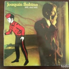 Discos de vinilo: JOAQUÍN SABINA -HOTEL, DULCE HOTEL-. Lote 194368107