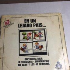 Discos de vinilo: DISCO DE VINILO - CUENTOS INFANTILES - EN UN LEJANO PAIS - SERIE 10000. Lote 194369330