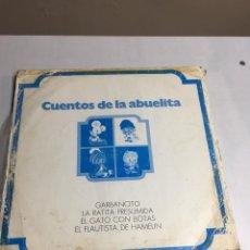 Discos de vinilo: DISCO DE VINILO - CUENTOS DE LA ABUELITA - SERIE10000. Lote 194369725