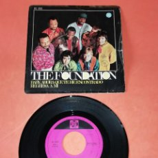 Discos de vinilo: THE FOUNDATION. BABY, AHORA QUE TE HE ENCONTRADO. REGRESA A MI. PYE RECORDS 1967. Lote 194370012