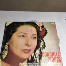 Discos de vinilo: DISCO DE VINILO - CONCHITA PIQUER - DIRECTOR MAESTRO CISNEROS. Lote 194370400