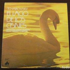 Discos de vinilo: PIOTR TCHAIKOVSKY - EL LAGO DE LOS CISNES- DER HAAGEN CONCERT ORCHESTRA. Lote 194370792
