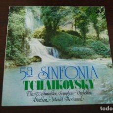 Discos de vinilo: PIOTR TCHAIKOVSKY - 5ª SINFONÍA. Lote 194371713