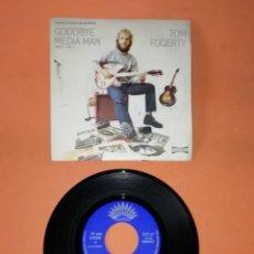 Discos de vinilo: TOM FOGERTY. GOODBYE MEDIA MAN PARTS 1 AND 2. AMERICA RECORDS 1971. Lote 194372820