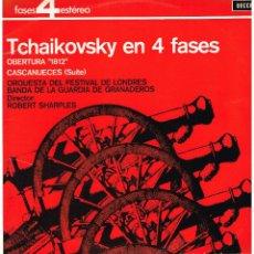 Discos de vinilo: TCHAIKOVSKY EN 4 FASES - ORQUESTA LONDRES - DIR. ROBERT SHARPLES - LP 1964. Lote 194374307