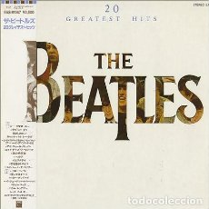 Discos de vinilo: LP JAPON THE BEATLES - 20 GREATEST HITS. Lote 194376435