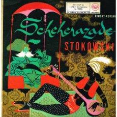 Discos de vinilo: SCHEHERAZADE - LEOPOLD STOKOWSKI - LP 1961. Lote 194377340