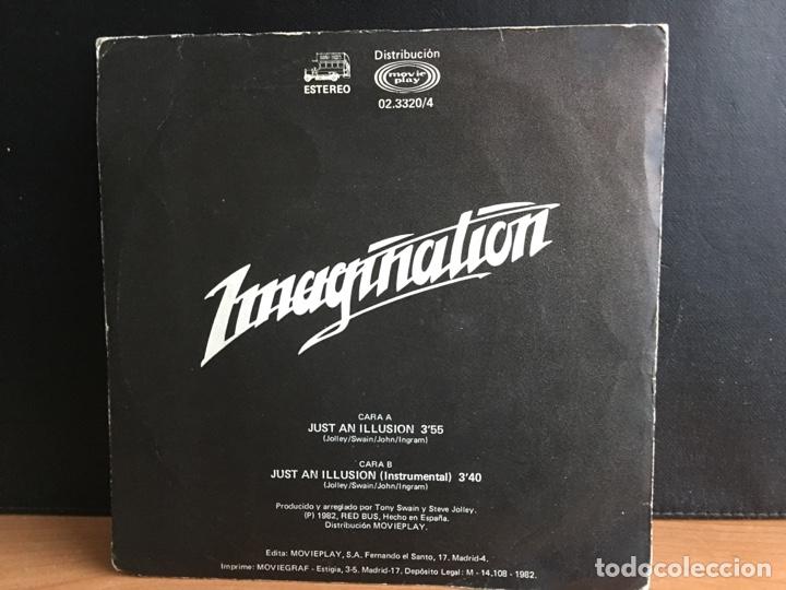 Discos de vinilo: Imagination - Just An Illusion = Solo Una Ilusión (Single) (Red Bus Records) 02.3320/4 (D:VG+) - Foto 2 - 194377592