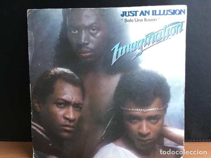 IMAGINATION - JUST AN ILLUSION = SOLO UNA ILUSIÓN (SINGLE) (RED BUS RECORDS) 02.3320/4 (D:VG+) (Música - Discos - Singles Vinilo - Funk, Soul y Black Music)