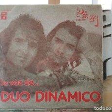 Discos de vinilo: *** DÚO DINÁMICO - LA VOZ DE... DÚO DINÁMICO - DOBLE LP 1976 (DOBLE PORTADA) - LEER DESCRIPCIÓN. Lote 194380511