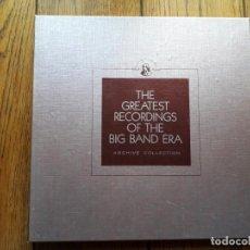 Discos de vinilo: THE GREATEST RECORDINGS OF BIG BAND ERA - VOL. 21- 22 - 23 - 24 HARRY JAMES + HORACE HEIDT + FRE. Lote 194384976