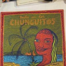 Discos de vinilo: LOS CHUNGUITOS-BAILA CON LOS CHUNGUITOS-1990. Lote 194385290