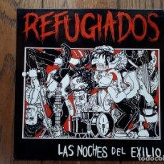 Discos de vinilo: REFUGIADOS - LAS NOCHES DEL EXILIO. Lote 194385432