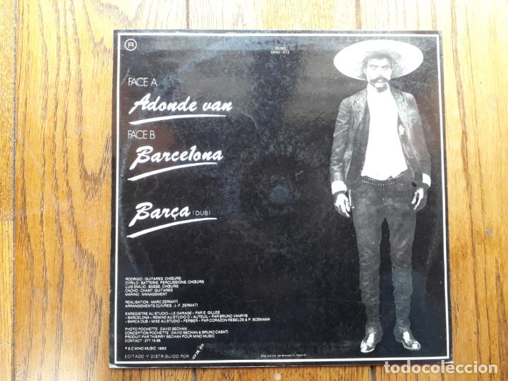 Discos de vinilo: Corazón rebelde - a dónde vas + barcelona + barca (dub) - Foto 2 - 194387220