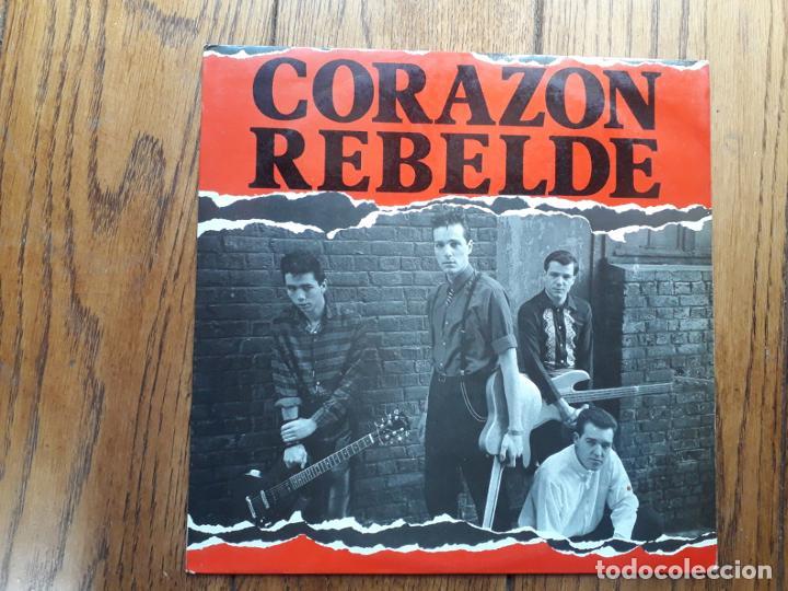 CORAZÓN REBELDE - A DÓNDE VAS + BARCELONA + BARCA (DUB) (Música - Discos de Vinilo - Maxi Singles - Grupos Españoles de los 70 y 80)