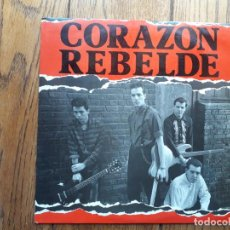 Discos de vinilo: CORAZÓN REBELDE - A DÓNDE VAS + BARCELONA + BARCA (DUB) . Lote 194387220
