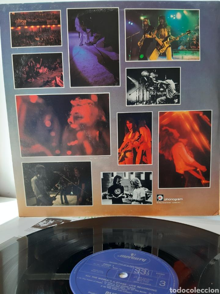 Discos de vinilo: RUSH. ALL THE WORLDS A STATE. LIVE RECORDING. MERCURY. UK. REDICCION 1986? - Foto 2 - 194387275