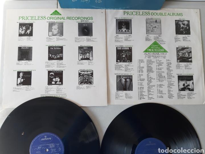 Discos de vinilo: RUSH. ALL THE WORLDS A STATE. LIVE RECORDING. MERCURY. UK. REDICCION 1986? - Foto 7 - 194387275