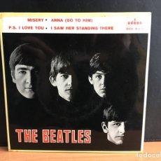Discos de vinilo: THE BEATLES - MISERY (EP) (ODEON) (D:NM). Lote 194387951