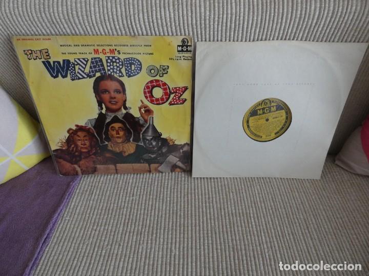 IMPRESIONANTE LP BANDA SONORA OST DE LA PELI EL MAGO DE OZ WIZARD OF OZ UK 1956 (Música - Discos de Vinilo - EPs - Bandas Sonoras y Actores)