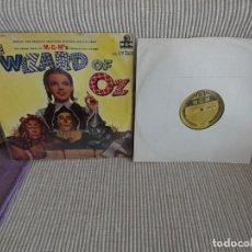 Discos de vinilo: IMPRESIONANTE LP BANDA SONORA OST DE LA PELI EL MAGO DE OZ WIZARD OF OZ UK 1956. Lote 194388742