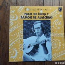 Discos de vinilo: PACO DE LUCÍA Y RAMÓN DE ALGECIRAS - HISPANOAMERICA CON..... Lote 194389556