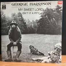 Discos de vinilo: GEORGE HARRISON - MY SWEET LORD (SINGLE) (ODEON) (D:NM). Lote 194389636