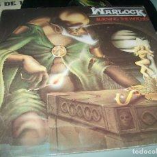 Discos de vinilo: WARLOCK - BURNING THE WITCHES ..LP DE 1987 - NUEVA EDICION . Lote 194389986