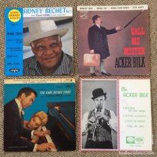 Discos de vinilo: LOTE 4 EP SYDNEY BECHET ACKER BILK. Lote 194390245