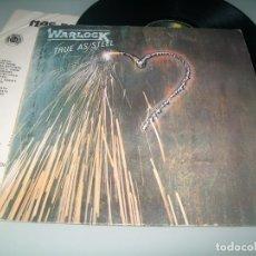 Discos de vinilo: WARLOCK - TRUE AS STEEL .. LP DE VERTIGO 1987 - EDICION ESPAÑOLA 830 237/1. Lote 194392363