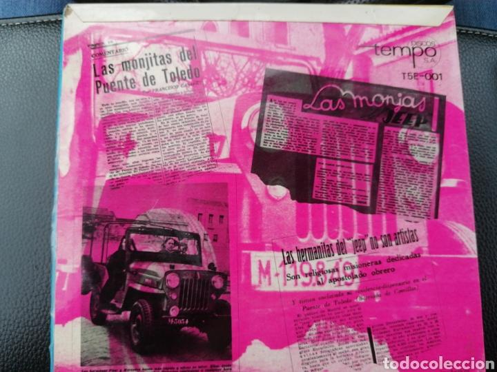 Discos de vinilo: 2 singles las monjitas del Jeep - Foto 2 - 194392555