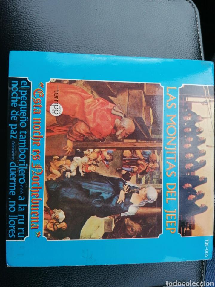 Discos de vinilo: 2 singles las monjitas del Jeep - Foto 4 - 194392555