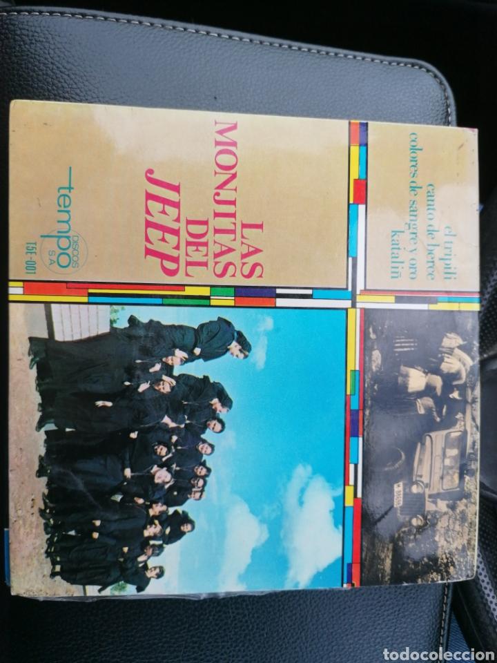Discos de vinilo: 2 singles las monjitas del Jeep - Foto 5 - 194392555