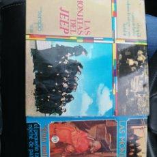 Discos de vinilo: 2 SINGLES LAS MONJITAS DEL JEEP. Lote 194392555