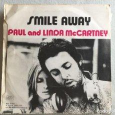 Discos de vinilo: PAUL AND LINDA MCCARTNEY EAT ET HOME. Lote 194392977