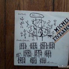 Discos de vinilo: MICHEL ETXEGARAY (¿ IMANOL?) - ATZO, GAUR , BIHAR + LANGILE BATEK DIO...+ HIK ETA NIK + EZ DUGU JAI. Lote 194393195
