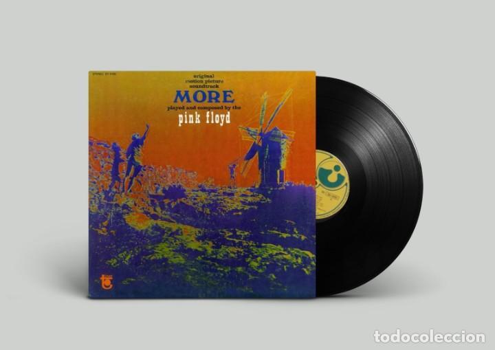 PINK FLOYD – SOUNDTRACK FROM THE FILM MORE - 1974 - EDICIÓN BRASIL (Música - Discos - LP Vinilo - Pop - Rock Extranjero de los 50 y 60)