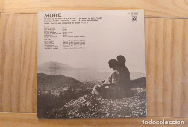 Discos de vinilo: Pink Floyd – Soundtrack From The Film More - 1974 - Edición Brasil - Foto 4 - 194393235