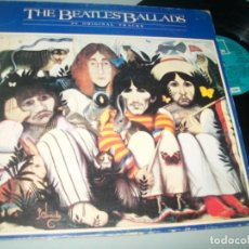Discos de vinilo: THE BEATLES - BALLADS - 20 ORIGINAL TRACKS ...LP DE ODEON ..ORIGINAL DE 1980 ESPAÑOL . Lote 194393537