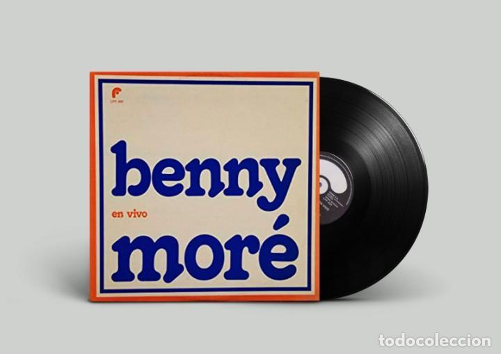 BENNY MORÉ - EN VIVO - EDICIÓN MEXICO (Música - Discos - LP Vinilo - Grupos y Solistas de latinoamérica)