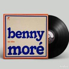 Discos de vinilo: BENNY MORÉ - EN VIVO - EDICIÓN MEXICO. Lote 194394272