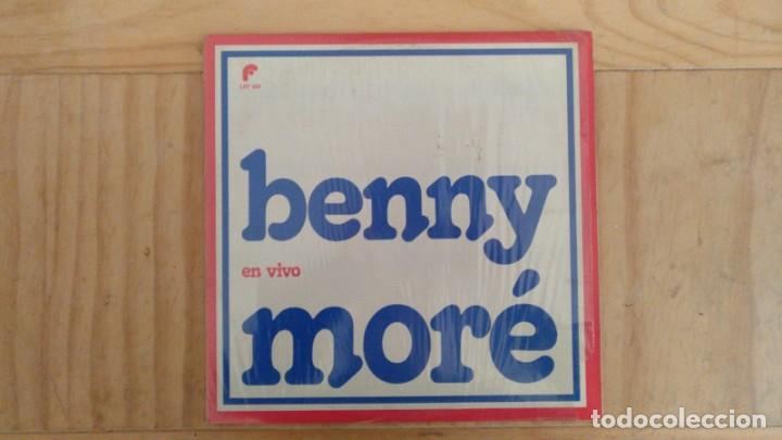 Discos de vinilo: Benny Moré - En Vivo - Edición Mexico - Foto 2 - 194394272
