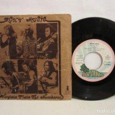 Discos de vinilo: ROXY MUSIC - VIRGINIA PLAIN / THE NUMBERER - SINGLE - 1972 - SPAIN - VG/VG. Lote 194395455