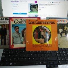 Discos de vinilo: LOS COMUNEROS LOTE 4 EP'S ESPAÑA EN MUY BUEN ESTADO. Lote 194397928