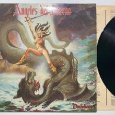Discos de vinilo: LP ÁNGELES DEL INFIERNO DIABÓLICCA EDICIÓN ESPAÑOLA DE 1985. Lote 194398117