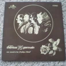 Discos de vinilo: LP. ORKEST THERESE GERMAIN.EEN AVOND IN HET. FIRMADO. BUENA CONSERVACION. Lote 194398645
