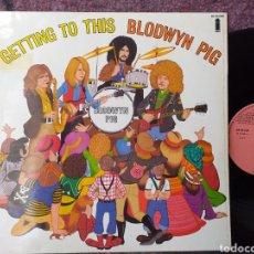 Discos de vinilo: BLODWYN PIG GETTING TO THIS ESPAÑA ISLAND 1970. Lote 194398850