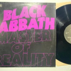 Discos de vinilo: LP BLACK SABBATH MASTER OF REALITY EDICION ORIGINAL INGLESA DE 1976. Lote 194398853